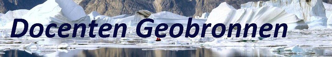 Docenten Geobronnen